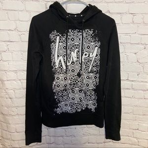 Hurley hooded sweatshirt size medium